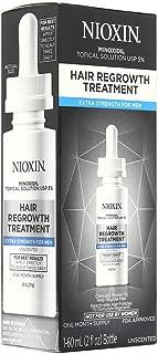 Nioxin Minoxidil Hair Regrowth Treatment Men, 2 oz.