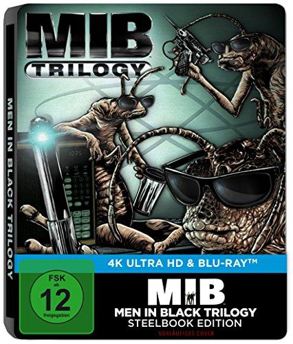 Men in Black 1-3 (4K Ultra HD) [Limited Steelbook Edition] [Blu-ray]