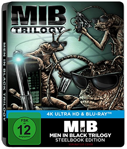 Men in Black 1-3 (4K Ultra HD) [Limited Steelbook Edition] [Blu-ray]