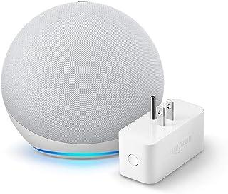 Echo (4th gen.), Glacier White with Amazon Smart Plug
