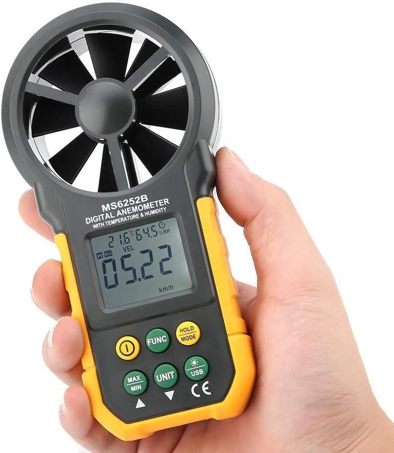 WSH Handheld Memphis Mall Digital Anemometer Wind LCD Speed Fees free Vol Air Backlight