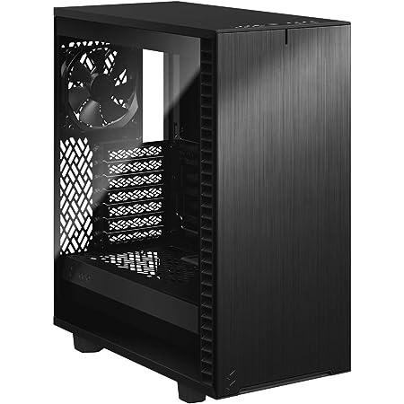 Fractal Design Define 7 Compact Black TG ミドルタワーPCケース 強化ガラスモデル FD-C-DEF7C-03 CS7693