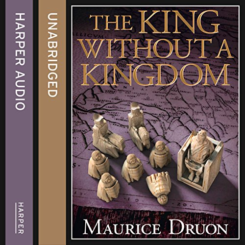 The King Without a Kingdom (The Accursed Kings, Book 7) audiobook cover art