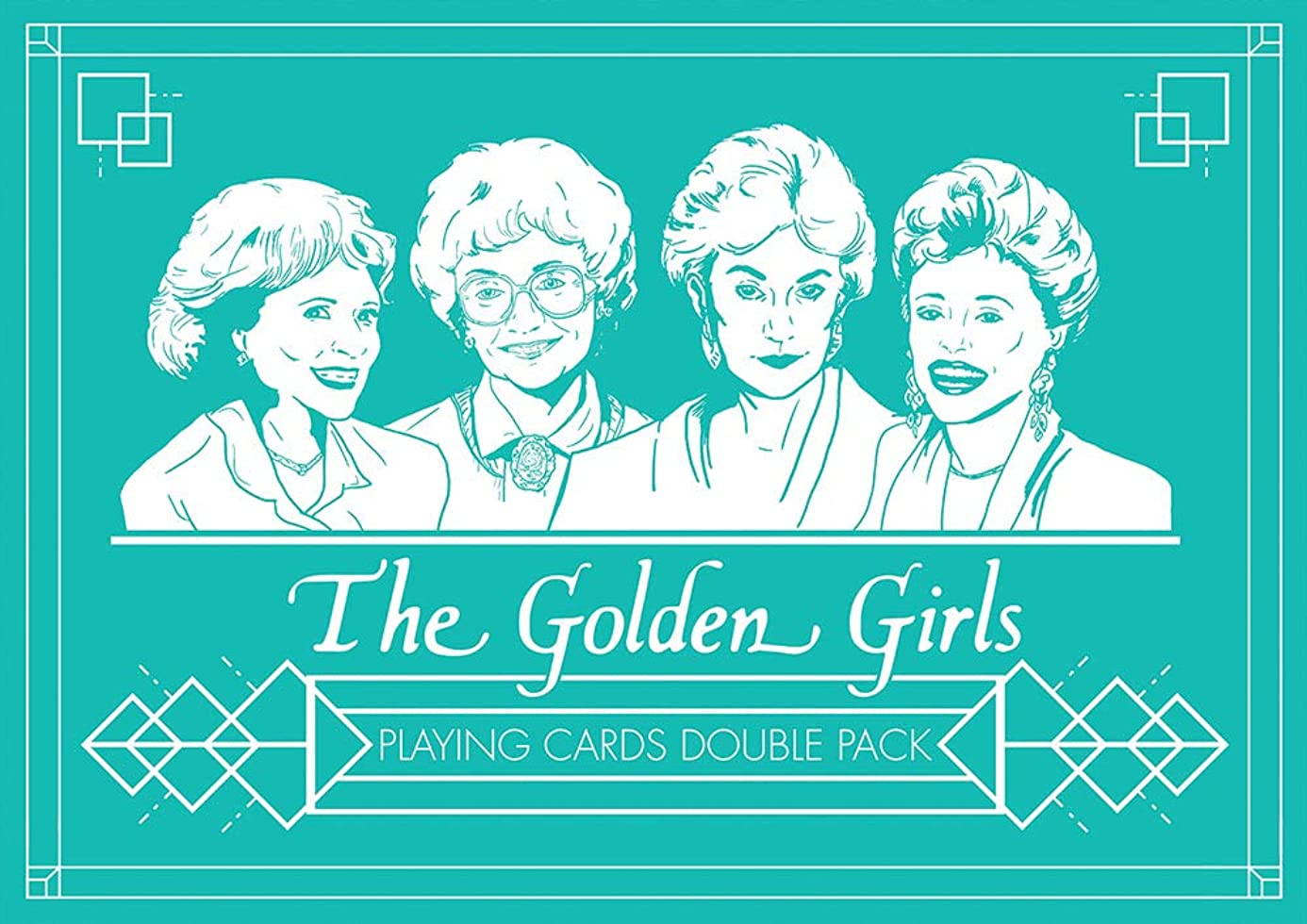 USAOPOLY The Golden Girls Playing Card Set