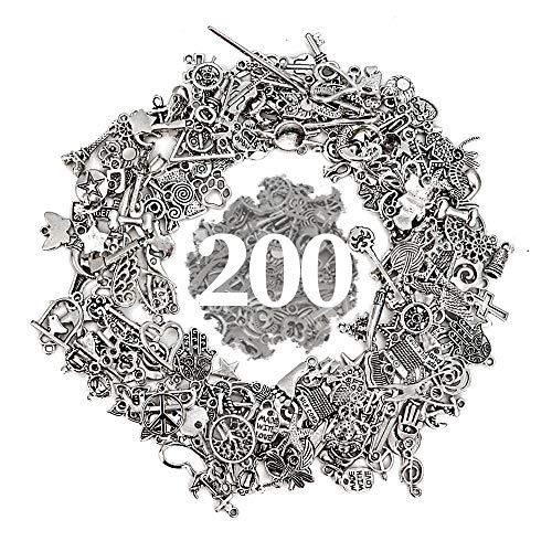 RUBY - 200 Breloques pour bijoux...