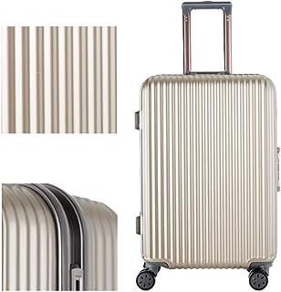 Luggage Male Business Trolley Suitcase Female Universal Wheel Travel Suitcase Aluminum Frame Password Luggage Luggage Golden 20 inch