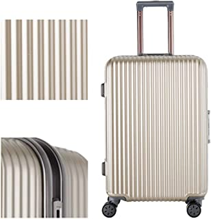 Luggage Male Business Trolley Suitcase Female Universal Wheel Travel Suitcase Aluminum Frame Password Luggage Luggage Golden 20 inch
