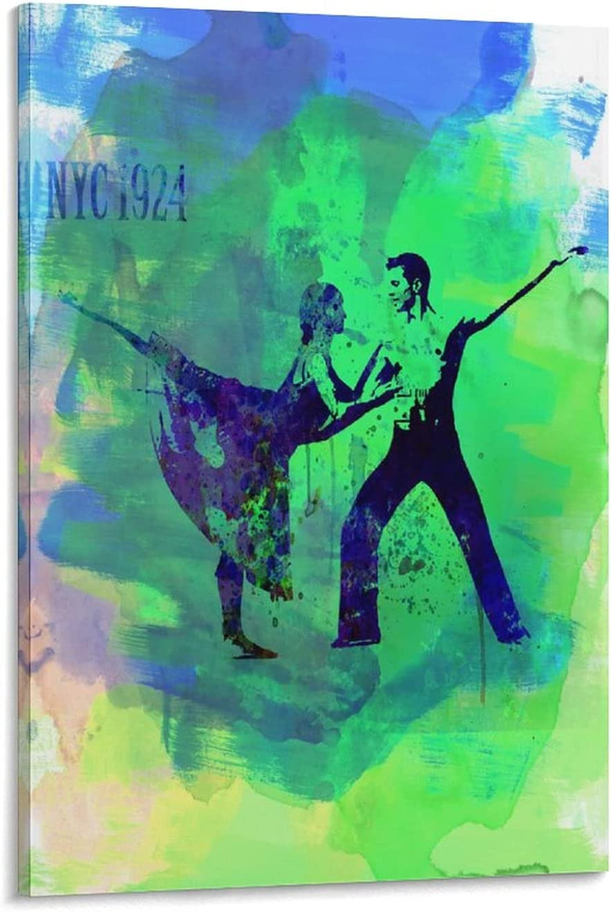 freebrand Dance Artistic Watercolor OFFicial shop Romantic Poster 3 overseas Can Ballet