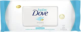 Dove Baby Wipes Rich Moisture 30 Count (3 Pack)