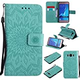 KKEIKO Galaxy J5 2016 Case, Galaxy J5 2016 Flip Leather