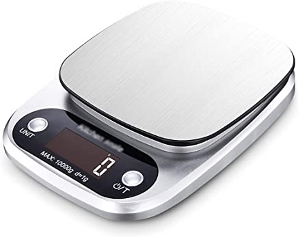 Kitchen Scales - Stainless Steel Scales, Waterproof Backlight, high Precision Sensor, Household and Commercial Waterproof Small Multi-Function Baking Food Electronic Scale - 3 Kinds Range Optional