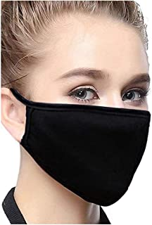 Breathing Protection Respirators (2 Packs) Comfortable and Excellent Against Harmful Air Particle (Black) (Black)