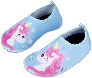 WateLves Chaussures de Bain pour Enfants Chaussures de Plage Chaussures de Natation antidérapantes Chaussures de Surf Chau...