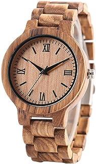 Minimalist Full Wooden Watches Women Men Bamboo Wood Bracelet Fashion Creative Quartz Wristwatch Handmade Gift Clock Hour ...
