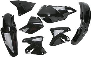 Acerbis Replacement Plastic Kit - Black , Material: Plastic 2041080001