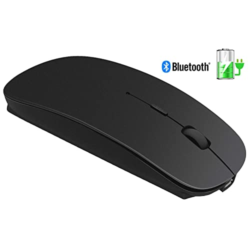 fe8d739b3a2 Slim Rechargeable Bluetooth Wireless Mouse - Tsmine Optical Cordless Mice  for Notebook, PC, Laptop