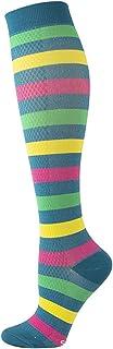 YUNLAN, YUNLAN Calcetines de compresión para Hombres y Mujeres Patrón Lindo Tubo de Golf Correr al Aire Libre Medias de Ciclismo (1 par) Calcetines Hombre (Color : WYS012 5, Size : S M)