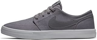 Nike Men's Sb Portmore Ii Solar Canvas Ankle-High Skateboarding Shoe