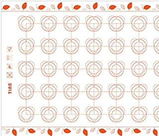 LLAAIT Silicone Tapis De Cuisson Fondant Ustensiles De Cuisson Four Outils De Cuisson pour Gâteaux Pâtisserie Outils Feuil...