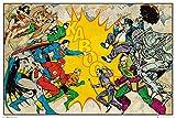 GB eye Poster DC Comics - Helden Vs Schurken - 91.5 x 61 cm