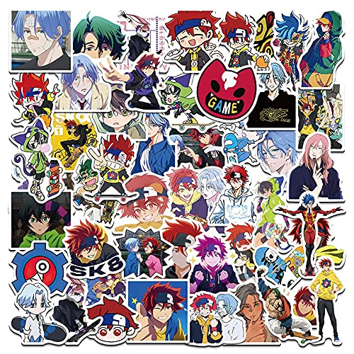 WYZNB 50 unids Infinite Anime Skateboard Sticker Decoración Ipad motocicleta Notebook impermeable extraíble sin dejar pegamento Graffiti Pegatinas
