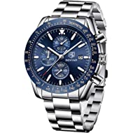 BENYAR Fashion Men's Quartz Chronograph Waterproof Watches Business Casual Sport Design Wrist...