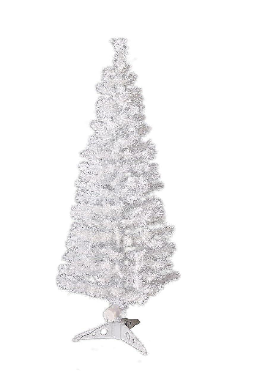 器用なんでもラボXmas 高輝度LEDファイバークリスマスツリー 高さ120cm ホワイト