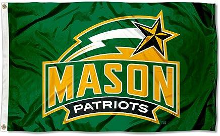CollegeFanGear George Mason Luggage Tag Mason Patriots w//Star
