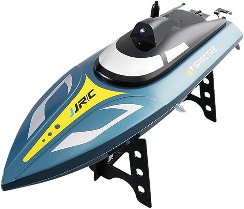 compras de moda online HEIRAO HEIRAO HEIRAO Barco de Control Remoto, Barcos de Carreras de Alta Velocidad RC para Adultos y Niños, 20-25 KM H, vuelco de 180 Grados  protección post-venta