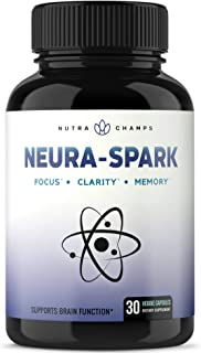 Premium Brain Supplement for Focus, Memory, Energy, Clarity - Nootropic Brain Booster Scientifically Formulated for Optima...