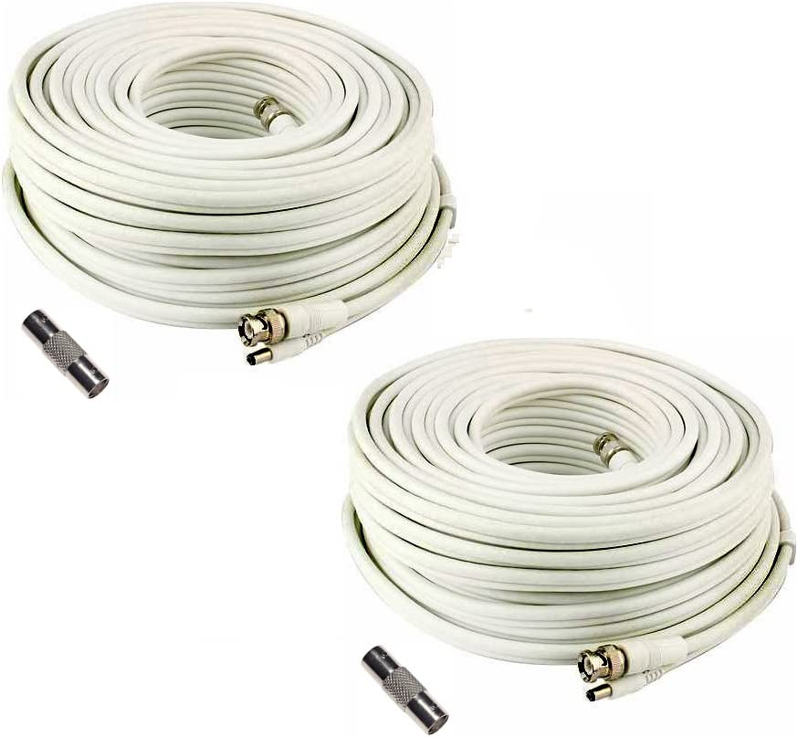 Lot 4 years warranty of 2 Generic SEA-C101-150 150 Security Omaha Mall Cable for Camera Foot