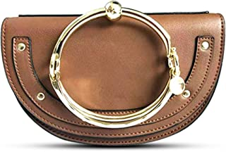 Normia Rita Cute Lune Shoulder Bags Ring Handbags for Women Phone Wallet Shell Purse For Girls