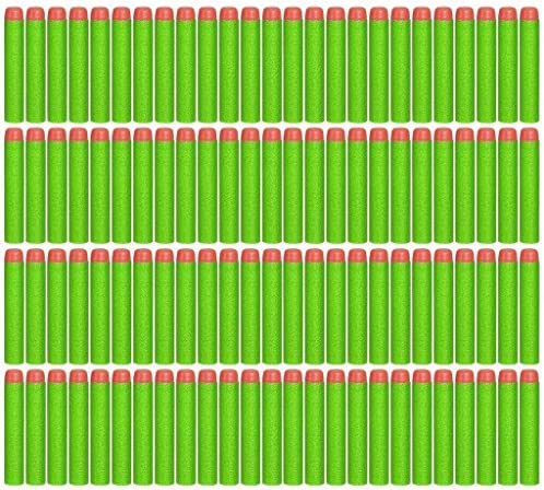 Topways® 200pcs 7.2cm Foam Darts Refill Bullet for Nerf Gun Bullets N-strike Elite Series Darts Blasters ( 200 Pack Blue )
