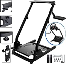 CINGO Wheel Stand Height Adjustable for Logitech G25, G27, G29, G920 Racing Steering Wheel Stand Gaming Racing Simulator Wheel and Pedals Not Included
