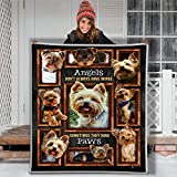 Dog Confession Love Letter Hippie Animal Blanket Gift Farmer Love pet Flannel Sherpa Blanket Birthday Gift Souvenir Thick Warm (Youth 56 X 43 INCH)