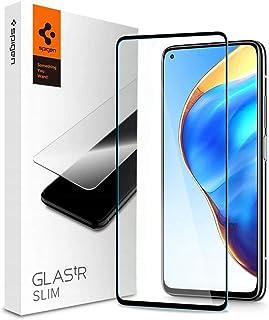 Spigen GLAStR Slim for Xiaomi Mi 10T and Mi 10T Pro Screen Protector Tempered Glass - Full Cover