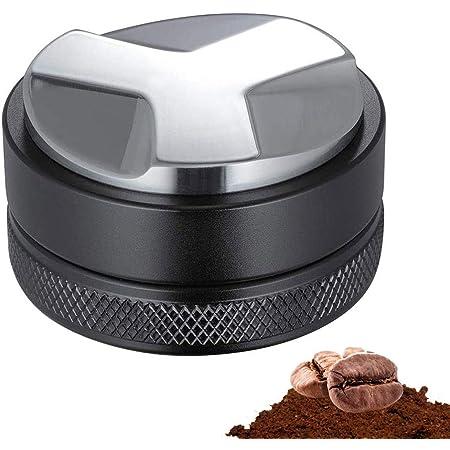 Moligh doll Distributore di caff/è e Manomissione da 53 Mm Livellatore per caff/è Un Doppia Testa Adatto per Portafiltri Breville da 54 Mm con Una Tazza da caff/è