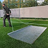 StadiumMax Galvanized Steel Drag Mat - Baseball Field Mats [6 Sizes | Durable Drag Chain Attached for Tractor Accessories | Multi Surface Dragging Mat (3ft x 5ft)