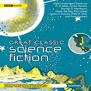 Great Classic Science Fiction audiobook cover art