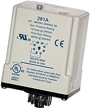 SymCom MotorSaver 3-Phase Voltage Monitor Model 201A, 190-480V, 8-Pin Octal Base
