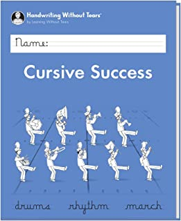 Learning Without Tears - Cursive Success Student Workbook, Current Edition - Handwriting Without Tears Series - 4th Grade Writing Book - Cursive Writing, Language Arts Lessons - For School or Home Use