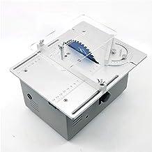 Mini Sierra de mesa multifunción para carpintería, sierra de banco, modelo de Hobby DIY, herramienta de pulido de corte artesanal, Portabrocas B10, Motor Dual