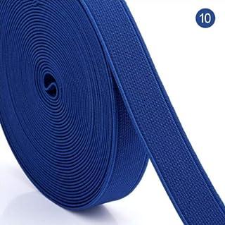 Bianco Nero 5 m largo 3 mm nero 3-60 mm nylon elastico per cucire morbido cucito per vestiti nastro cavo indumento corda accessori biancheria intima jod