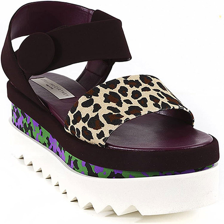 Stella Mccartney Women's Faux Suede Wedges shoes