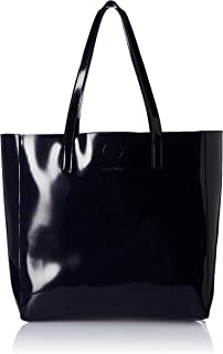 Amazon Brand - Eden & Ivy Women's Eden & Ivy Patent Handbag (Fushia)