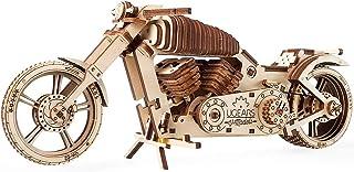 Wooden Bike, Vintage Vehicle, Mechanical Models, School Project, Automata Kit, Desk Décor by Ugears