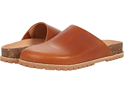 Madewell The Layne Clog Mule in Leather