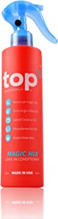 HSI PROFESSIONAL Top 5 Heat Hair Protector & Conditioner | Flat Iron & Hot Blow Dry Thermal Guard | With Argan, Coconut, Macadamia, Olive Oil & Vitamins | Made in the USA | 8 Ounce