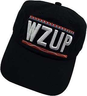 WZUP 90s Dad Hat Baseball Cap Embroidered Cap Adjustable Hat Plain Cap Unisex