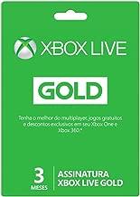 Live Gold - 3 Meses - Xbox
